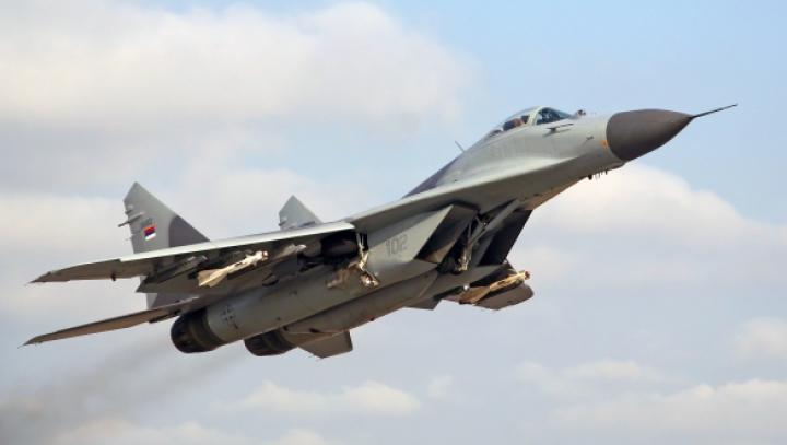 Un MIG-29 s-a prăbuşit în regiunea Moscova: Un pilot a fost spitalizat