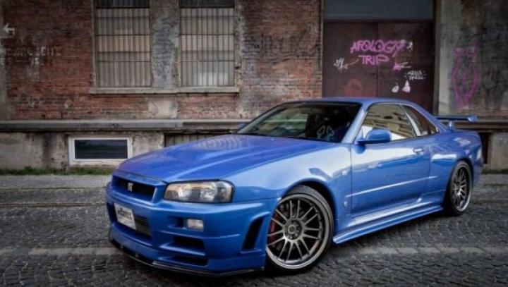 """Automobilul condus de Paul Walker în """"Fast & Furious 4"""" a fost scos la vânzare"""