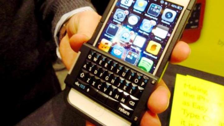 Cum arată prima carcasă cu tastatură fizică pentru iPhone 6