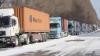 Doar un punct de trecere la frontiera cu Ucraina mai rămâne blocat din cauza nămeților