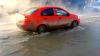 MARTOR OCULAR. Cum arată strada din Chişinău unde s-a spart o conductă cu apă fierbinte