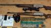 Arme şi muniţii găsite într-un automobil la Făleşti (FOTO)