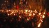 Mii de ucraineni cu torţe în mâini au luat cu asalt străzile din Kiev. Ce eveniment au marcat