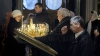 Unii creştini ortodocşi au profitat de ultima duminică a postului pentru a lua euharistia