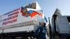 """""""Cadouri de Crăciun"""". Presa de la Kiev arată ce a adus în Ucraina un """"convoi al lui Putin"""" (VIDEO)"""