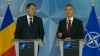 Iohannis cere susţinerea NATO pentru Moldova. Ce i-a răspuns secretarul Alianţei