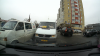 Şoferul unui microbuz se revoltă după ce nu i s-a permis să meargă pe contrasens (VIDEO)