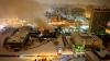 Incendiu devastator la o valoroasă bibliotecă din Moscova. Peste 200 de pompieri au luptat cu flăcările