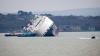 O navă maritimă încărcată cu 1.200 de maşini Land Rover şi Jaguar s-a răsturnat