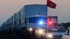 Un nou convoi umanitar din Rusia a intrat în estul Ucrainei. REACŢIA Kievului