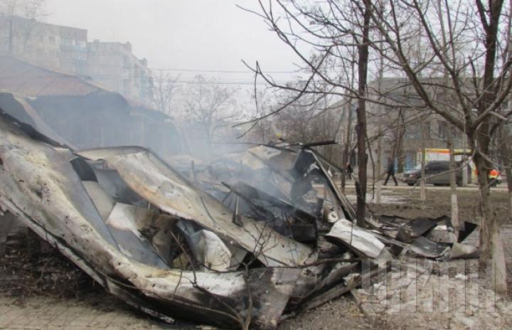 FOTOREPORT: Atacul din Mariupol le-a schimbat definitiv viaţa unor ucraineni