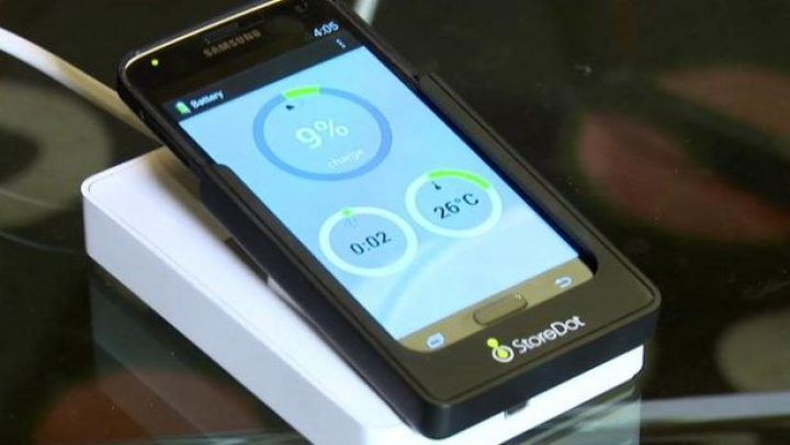 Bateria care se încarcă rapid, prezentată la Las Vegas. Avantaje şi dezavantaje