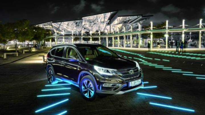 Imagini cu noul SUV Honda CR-V facelift, așteptat să debuteze pe piața din Moldova