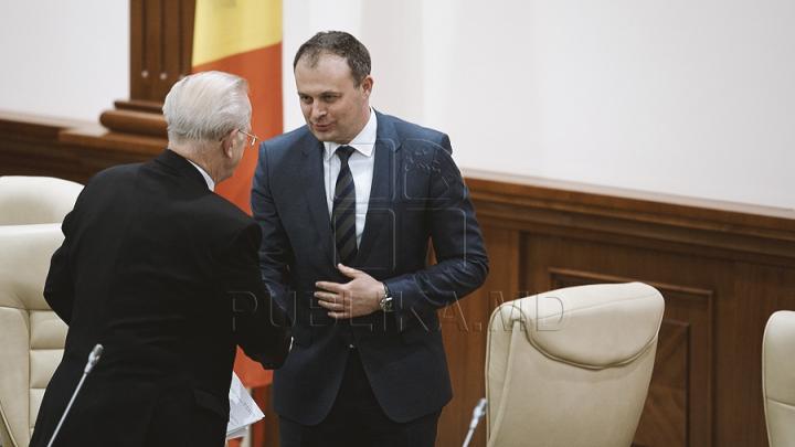 Noul Parlament are preşedinte. Andrian Candu a fost ales în calitate de speaker