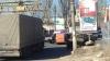 Accident în capitală: Un camion a avariat o maşină a încasatorilor (FOTO)