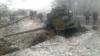 RĂZBOI în estul Ucrainei! Un proiectil a nimerit în clădirea unui spital, iar 14 tancuri au fost distruse (FOTO)