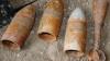 Obiecte explozibile din timpul celui de-Al Doilea Război Mondial, găsite într-o pădure lângă Orhei