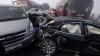 Accident în lanţ cu implicarea a zeci de maşini: Două persoane au murit (FOTO/VIDEO)