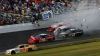 Nebunie la startul noului sezon din NASCAR. S-au înregistat câteva accidente de groază (VIDEO)