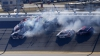 Nicio cursă fără accidente. Bucăţi de automobile au zburat pe circuitul de la Daytona (VIDEO)
