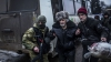 Case distruse şi oameni ucişi. DEZASTRUL continuă în estul Ucrainei