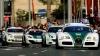 Poliţia din Dubai, în acţiune. Flota sa de supercaruri a ieşit pe străzile metropolei (VIDEO)