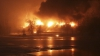 Explozii puternice în Virginia de Vest. Un tren care transporta țiței a deraiat (VIDEO)
