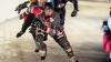 Un fost hocheist canadian a câştigat pentru prima dată o cursă de patinaj viteză