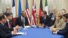 Liderii Marilor Puteri au sosit pentru discuţii la Kiev, iar vineri vor vorbi cu Putin la Moscova