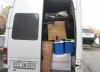 Microbuze redirecţionate pe culoarul roşu. Ce aduceau doi moldoveni din Italia (VIDEO)