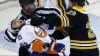 Meci spectaculos în NHL. Boston Bruins a învins dramatic New York Islanders