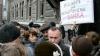 Protest cu încăierări la Kiev. Manifestanţii şi-au adus corturile în centrul oraşului