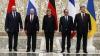 Negocierile de la Minsk s-au încheiat. Poroşenko, Putin, Merkel şi Hollande au ajuns la un acord