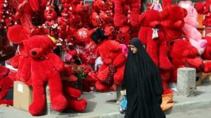 Ziua îndrăgostiților, sărbătorită în Irak. Locuitorii speră că această zi va aduce pacea în regiune