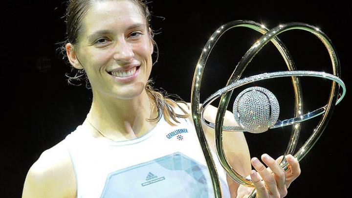 Andrea Petkovic a făcut spectacol în cadrul unui turneu amical