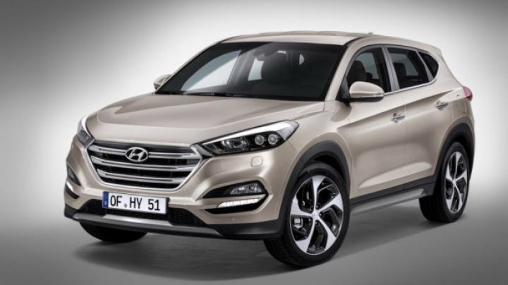 PREMIERĂ MONDIALĂ! Au apărut primele imagini cu noua generaţie Hyundai Tucson
