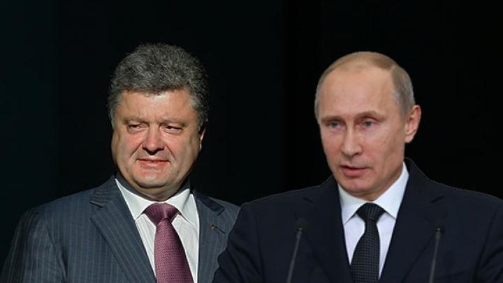 Între pace şi război! Putin şi Poroşenko şi-au confirmat prezenţa la reuniunea de la Minsk