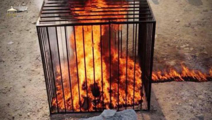 GROAZNIC: Zeci de ostatici au fost arşi de vii de gruparea teroristă Statul Islamic