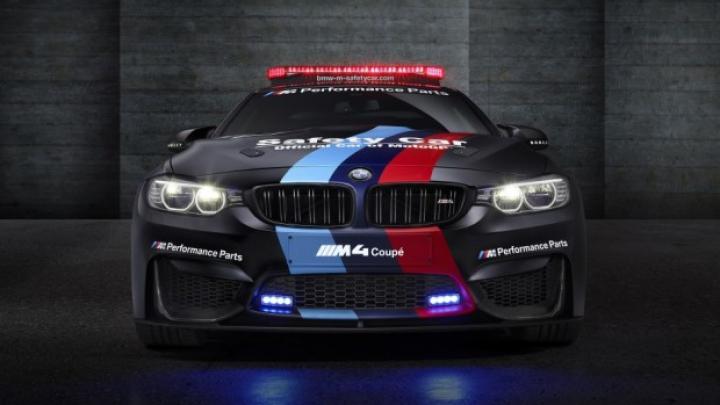 Noul BMW M4 pentru MotoGP 2015 are sistem de injecţie cu apă (VIDEO)