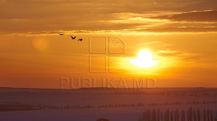 Fenomen impresionant în Rusia. Ce au văzut locuitorii unui oraş pe cerul dimineţii (FOTO)