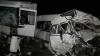 Accident CUTREMURĂTOR în Rusia: Morţi şi răniţi într-un microbuz făcut zob (VIDEO)