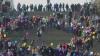 Ziua Femeii, sărbătorită cu mare fast în Donețk. Vedete au fost tinerele implicate în lupte (VIDEO)