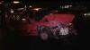 Două accidente într-un minut şi un bărbat aruncat de pe zebră. S-a întâmplat în Chişinău (VIDEO)