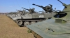 Moldovenii îşi zăngănesc armele. Sute de ostaşi au participat la aplicaţii militare