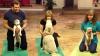 (VIDEO) Motivul pentru care un câine se preface interesat de yoga