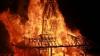 Templu de lemn, ars în Irlanda de Nord. Ce semnifică ritualul (VIDEO)