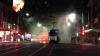 LA UN PAS DE MOARTE! Un tramvai plin cu pasageri a fost cuprins de flăcări