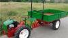 A înlocuit căruţa şi tractorul! Vehiculul minune utilizat tot mai des de fermierii din Moldova