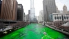INEDIT! Apa unui râu care străbate oraşul Chicago a devenit verde (VIDEO)
