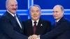 Preşedinţii Rusiei, Belarusului şi Kazahstanului îşi vor potrivi ceasurile la Astana